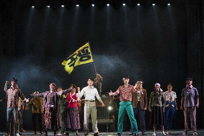 5.18光州民主化運動から40年後に上演された、新作ミュージカル『光州』の日本初放送が決定