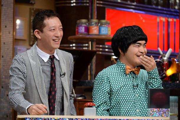 「関ジャム完全燃SHOW」に出演する高橋茂雄(サバンナ)と加藤諒(左から)。(c)テレビ朝日