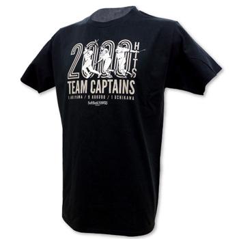 秋山幸二氏、小久保裕紀氏と内川聖一選手の3名がコラボした記念Tシャツ(3,500円)