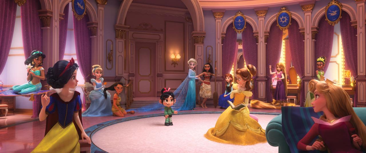 写真左から:ジャスミン『アラジン』/白雪姫『白雪姫』/シンデレラ『シンデレラ』/ポカホンタス『ポカホンタス』/ヴァネロペ『シュガー・ラッシュ』/エルサ『アナと雪の女王』/モアナ『モアナと伝説の海』/アナ『アナと雪の女王』/ベル『美女と野獣』/ ラプンツェル『塔の上のラプンツェル』/ティアナ『プリンセスと魔法のキス』/オーロラ『眠れる森の美女』(C)2018 Disney. All Rights Reserved.