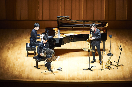 『上野耕平のサックス道Vol.3  三浦一馬をゲストに迎えて』ライブレポート~サクソフォン+バンドネオン+ピアノの華麗なる競演