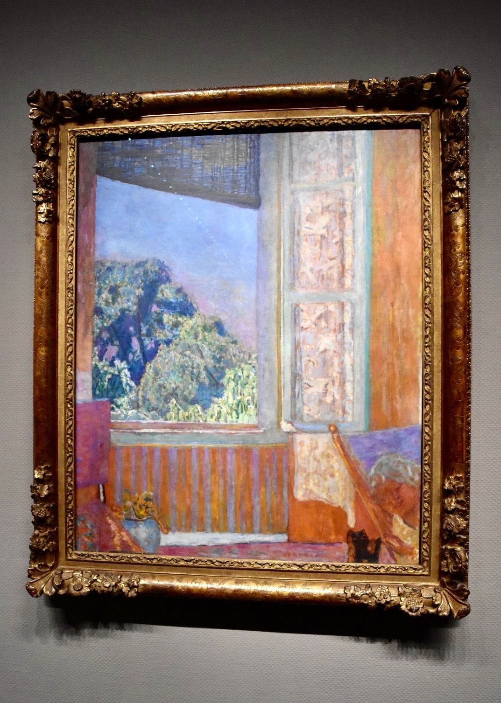 展示風景:ピエール・ボナール 《開かれた窓》 1921年