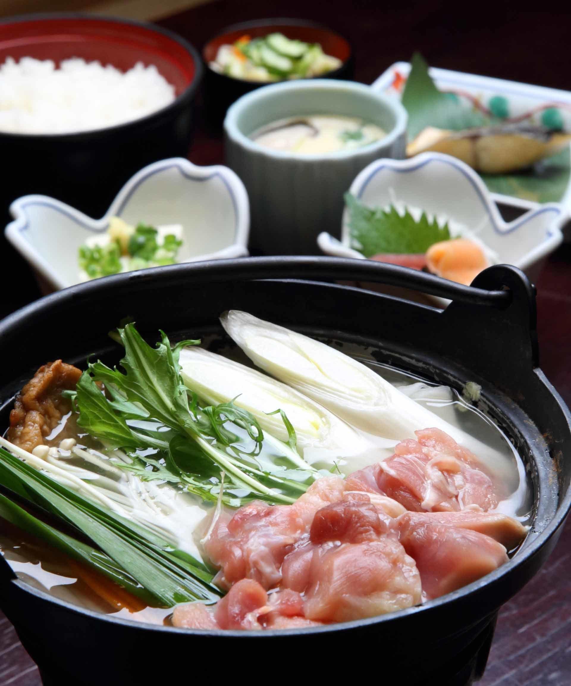 「ちゃんこ江戸沢」ちゃんこ鍋ランチ
