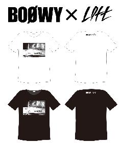 BOØWY×LOFT、コラボレーションTシャツを期間限定で発売
