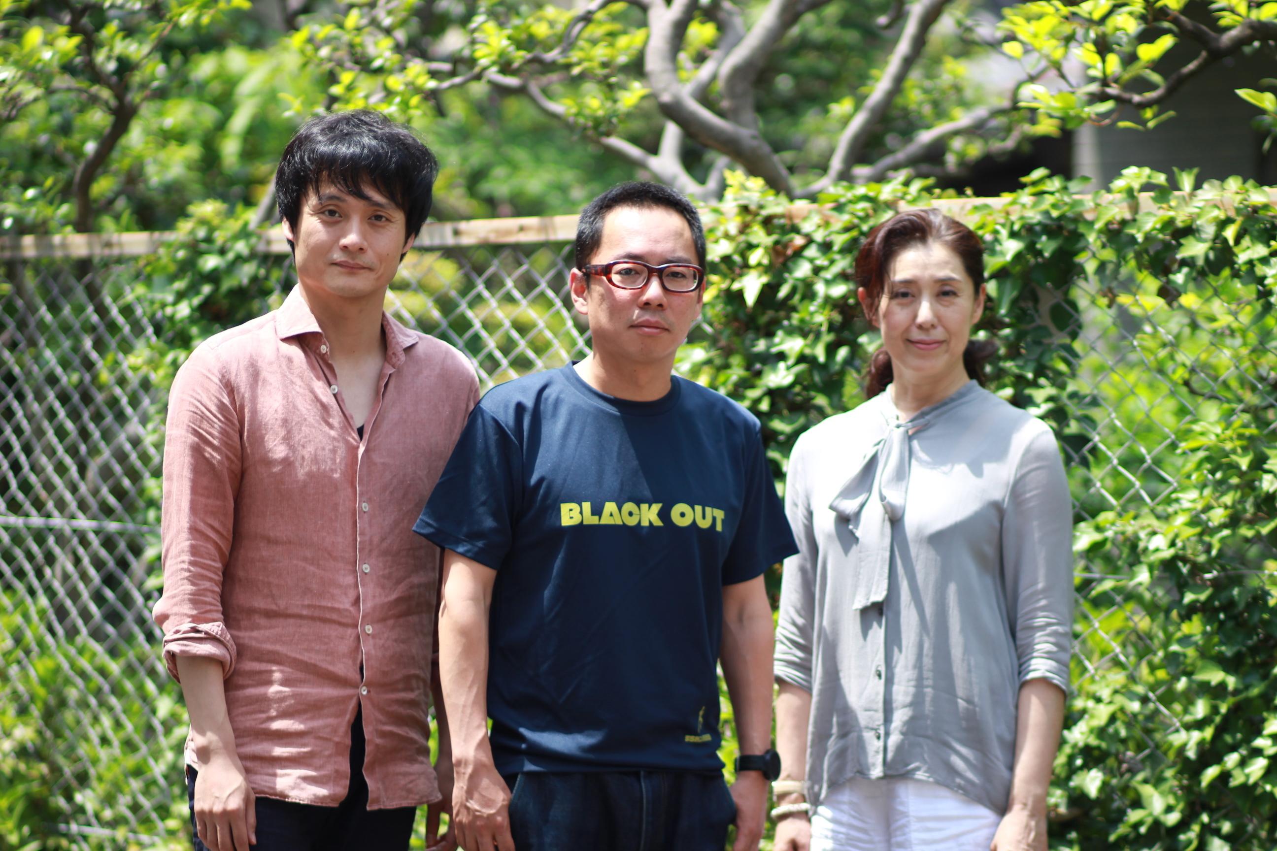 左から亀田佳明、高橋正徳、塩田朋子