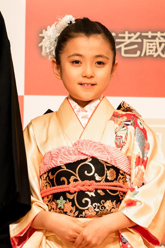 市川ぼたんは、4度目の歌舞伎公演出演。