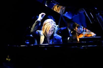 2万1千人が見届けたYOSHIKIクラシカルツアー日本公演ファイナルに、ヴァイオリンミューズ川井郁子も登場