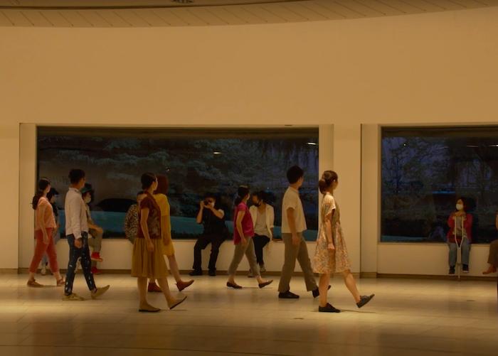 世田谷美術館「作品のない展示室」クロージング・プロジェクト「明日の美術館をひらくために」2020年8月27日 (YouTubeより)