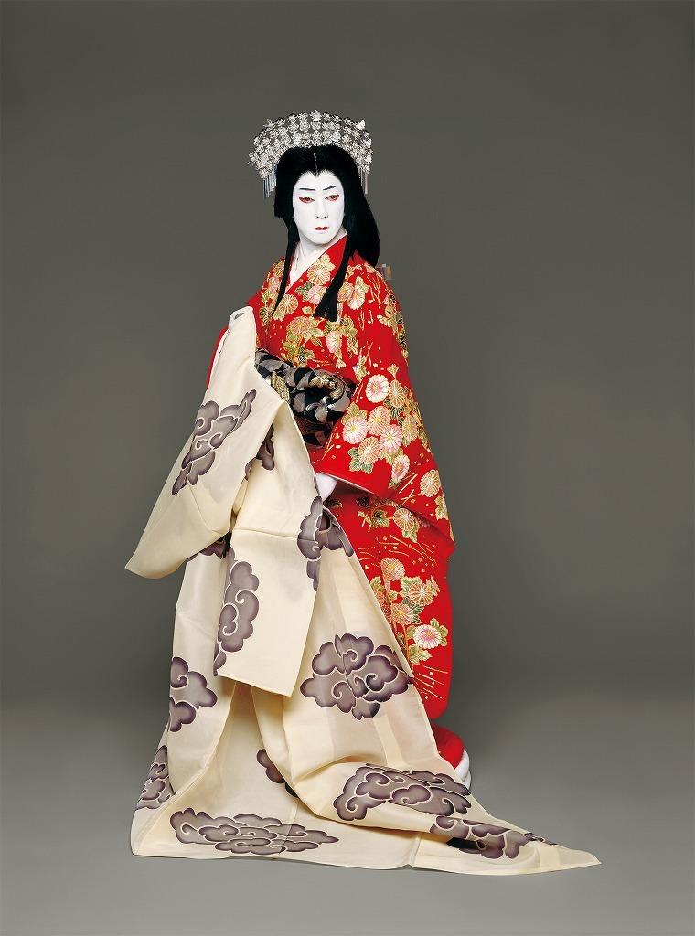 『日本振袖始』岩長姫=坂東玉三郎
