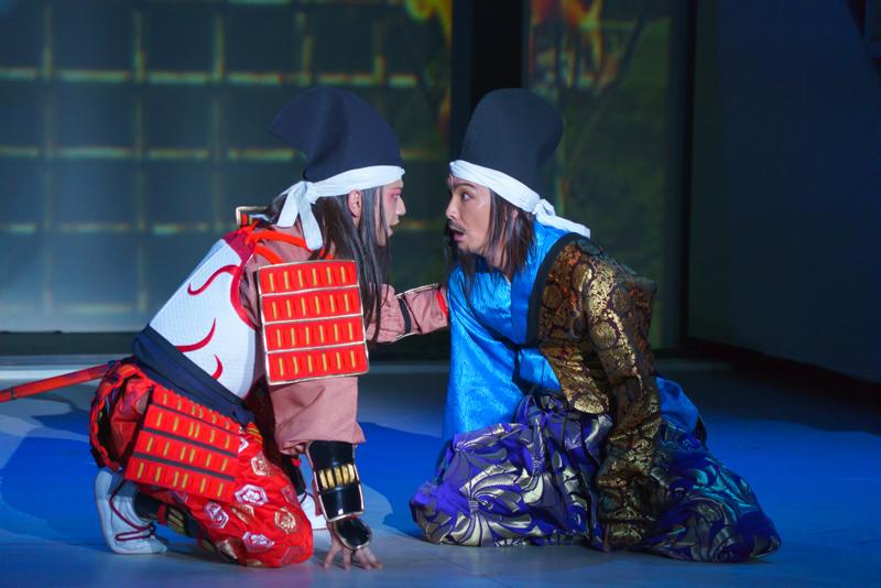 源義経と頼朝兄弟の物語を中心にストーリーは進む 撮影:坂井美碧織