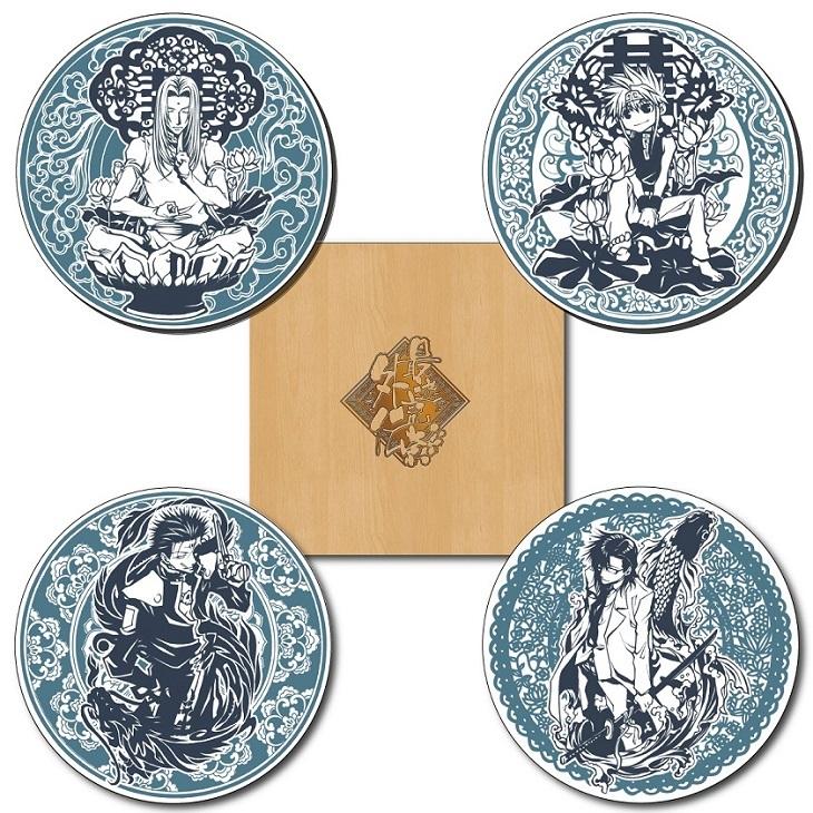 峰倉かずや先生デザイン 豆皿セット(4皿入) 4,320円
