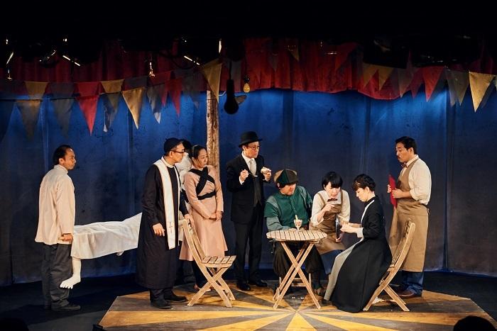 劇壇ガルバ前回公演『森から来たカーニバル』より  (C)︎福山楡青