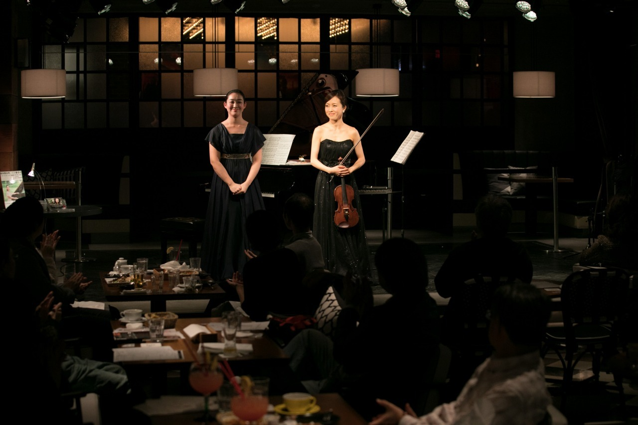 (左から)坂本真由美&千葉清加