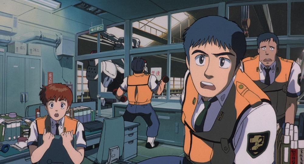 『機動警察パトレイバー the Movie』(通常版)場面写 (c)1989 HEADGEAR/BANDAI VISUAL/TOHOKUSHINSHA