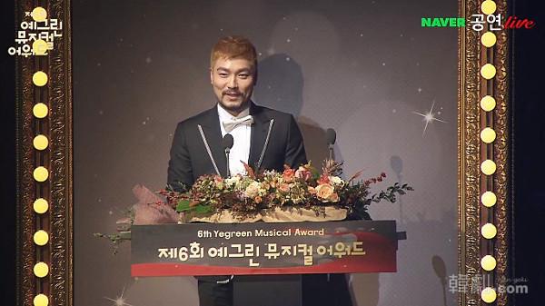 『英雄』で主演男優賞を受賞したヤン・ジュンモ