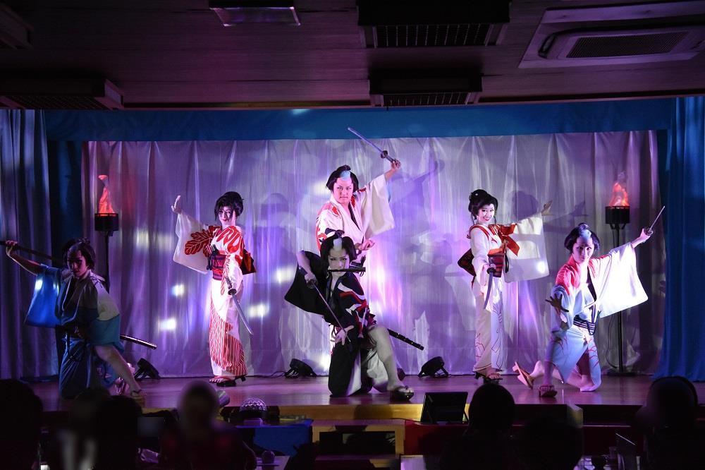 南ファミリー劇団 舞踊ショーラスト