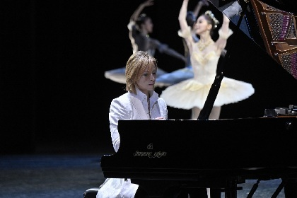 YOSHIKI 両陛下への感謝の思いを込めて、御即位十年奉祝曲「Anniversary」を牧阿佐美バレヱ団と披露
