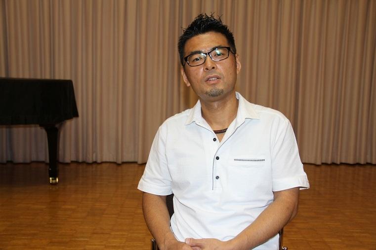 「兵庫県芸術奨励賞」を受賞した北口大輔     (C)H.isojima