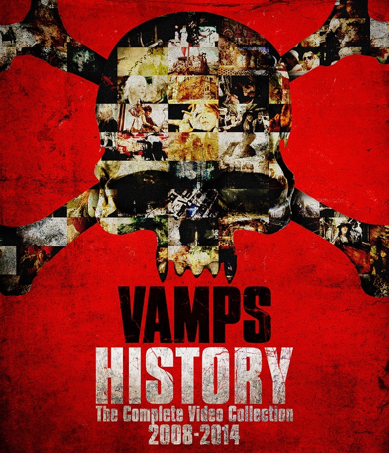 VAMPS『HISTORY-The Complete Video Collection2008-2014』Blu-ray
