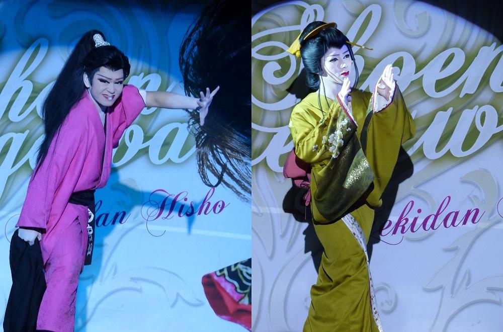 長谷川翔馬さん(左)・恋瀬川キャビアさん(右)