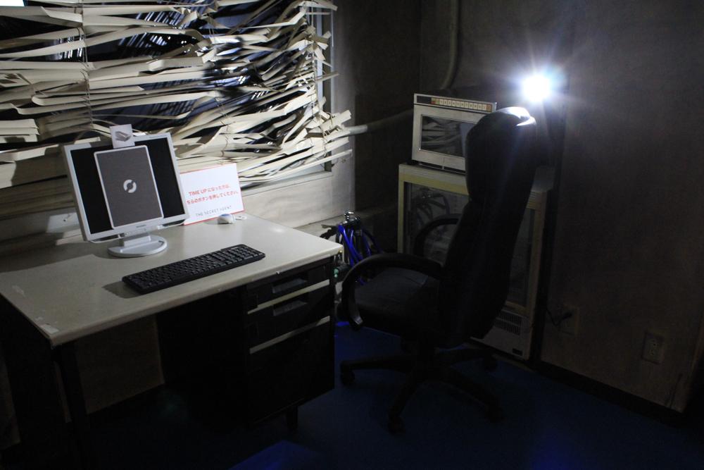 機密情報のある部屋の一部。この時確かに、自分はスパイだった。