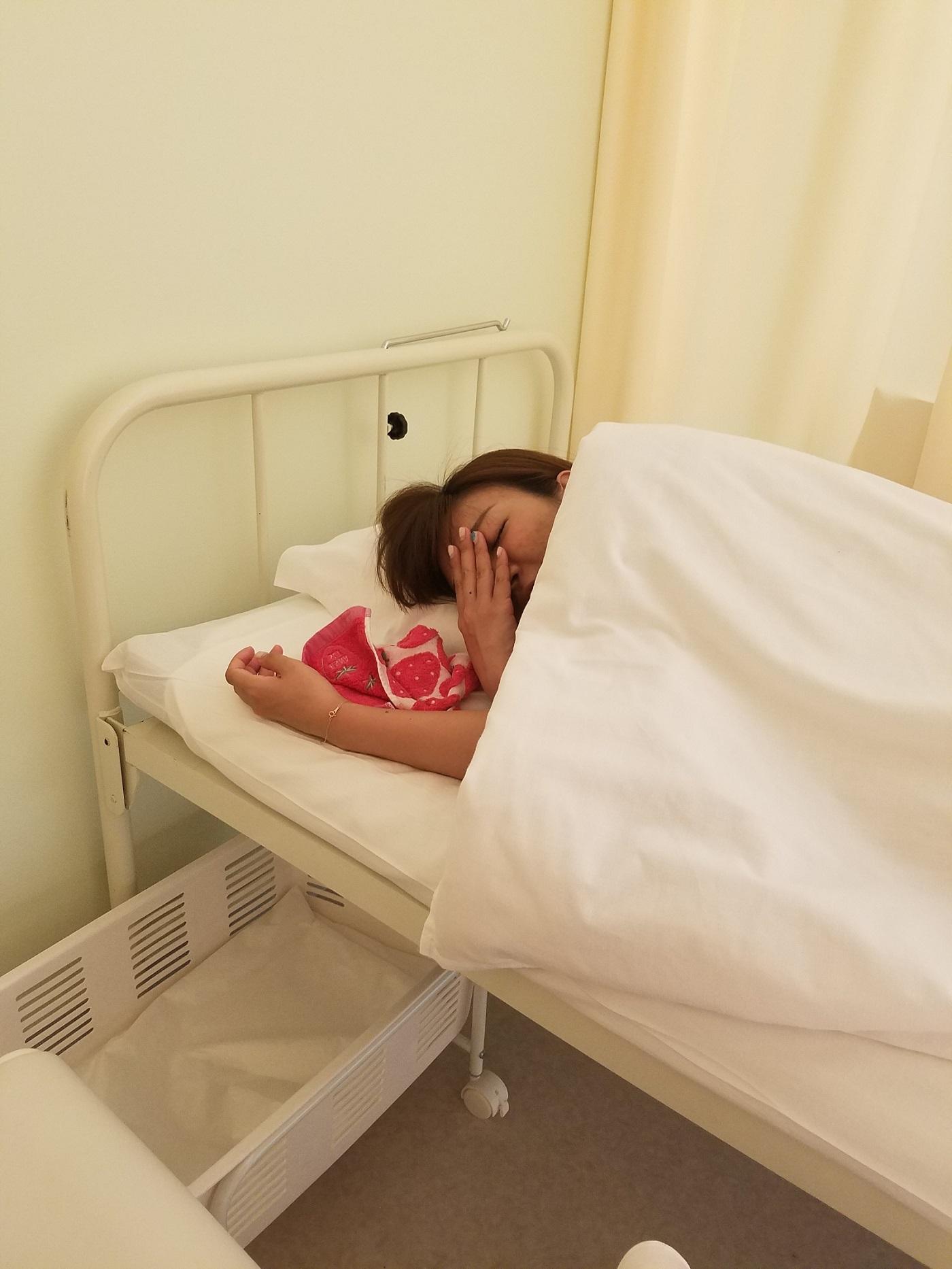 この後大阪市内の病院へ入院しました