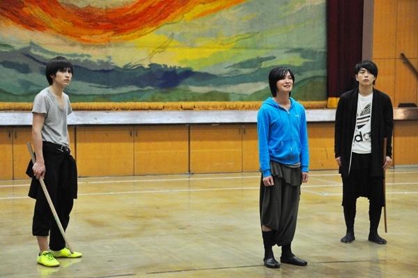 (左から)村川勁剛、松井勇歩、田渕法明(ブルーシャトル)