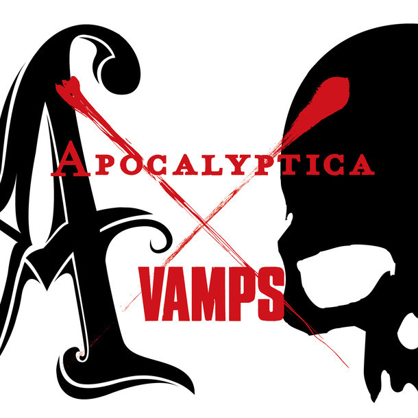 Apocalyptica×VAMPS「SIN IN JUSTICE」ジャケット