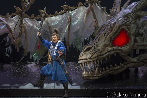 歌舞伎NEXT「阿弖流為」舞台写真 (C)Sakiko Nomura