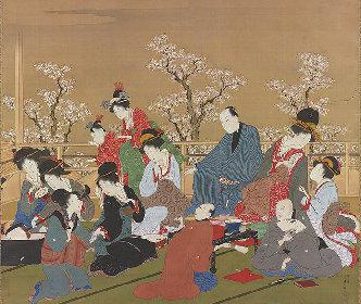 花魁の魅力に浮世絵で触れる『花魁ファッション』展 喜多川歌麿の肉筆画も