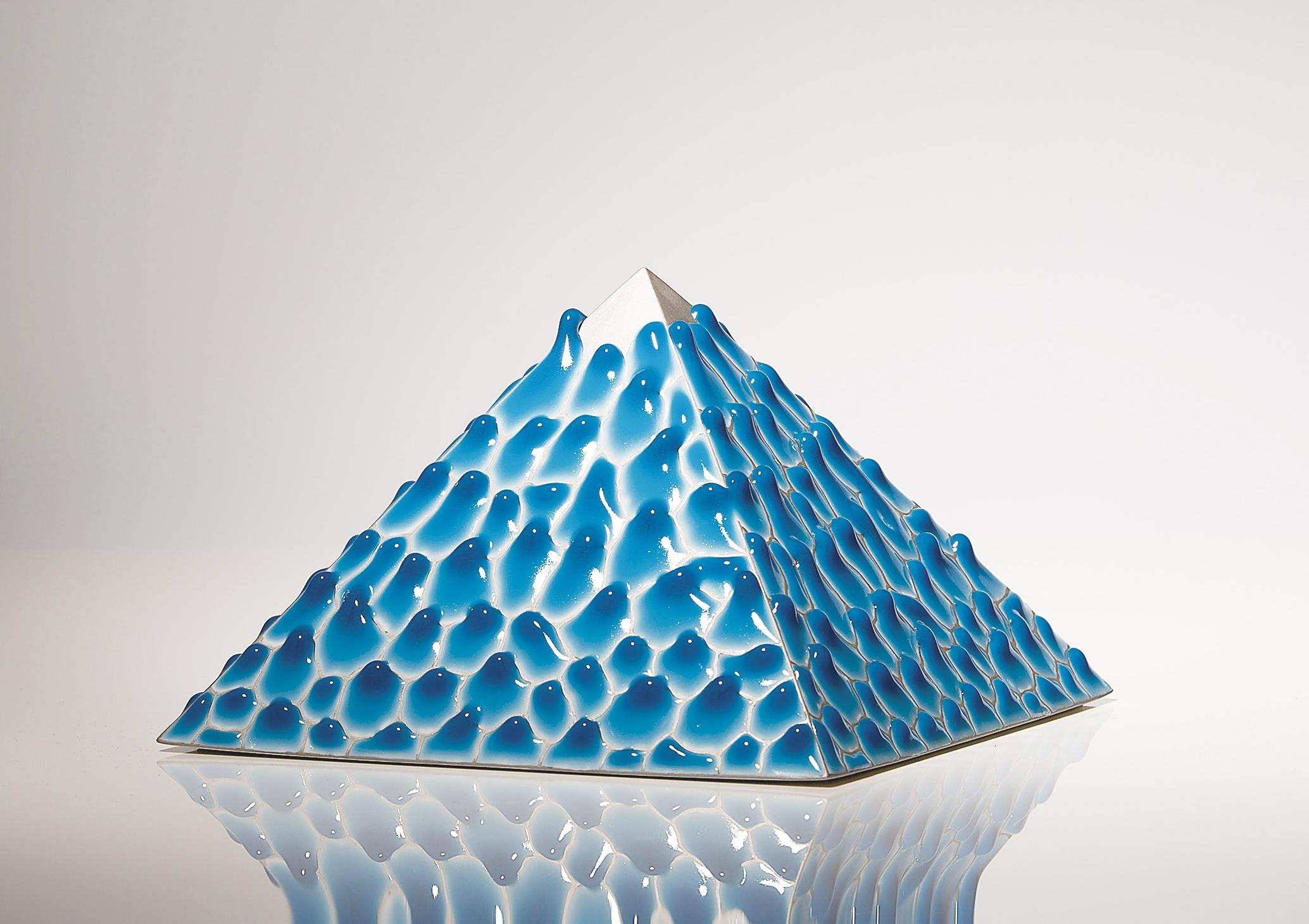 中村元風 グレイズPyramid 幅22.0×奥行22.0×高さ14.0cm