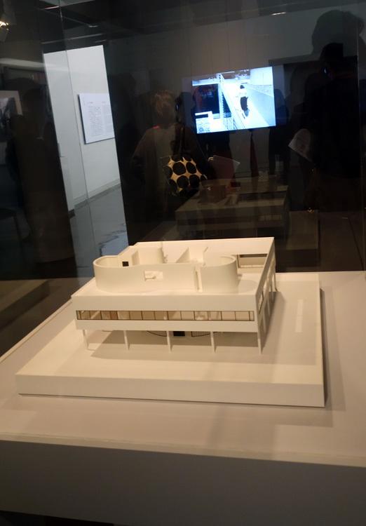 紙谷譲《「サヴォワ邸」1/50模型》2010年 大成建設株式会社