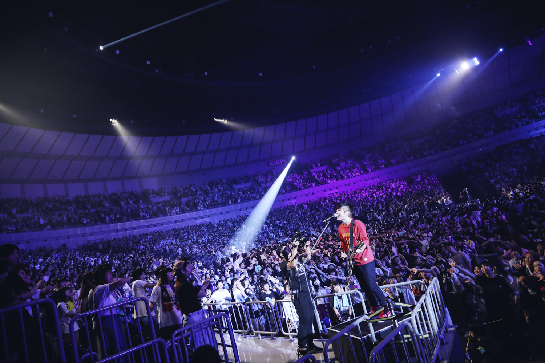 KEYTALK 2017.9.10 横浜アリーナ 撮影=後藤壮太郎