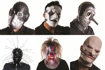 スリップノット 最新マスクが都内近郊LoFtで販売開始