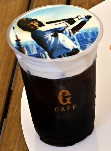 G CAFEの「選手ラテプリドリンク」 ※画像はイメージ