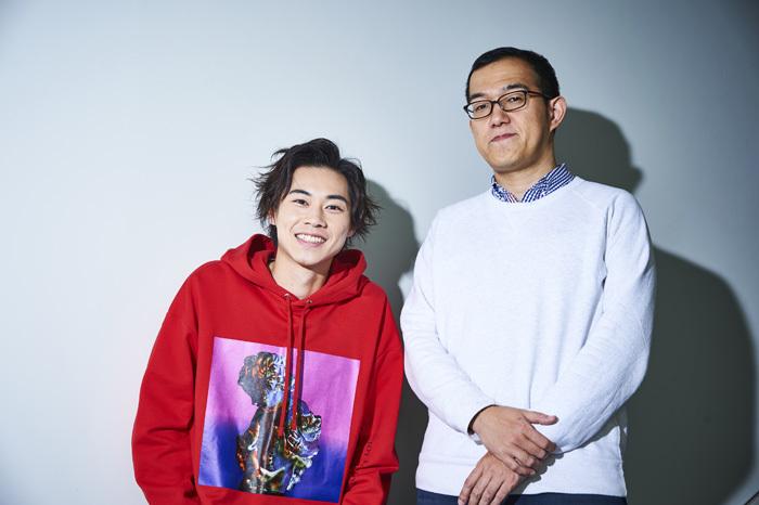 左から 戸塚純貴、上田誠