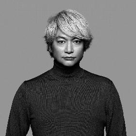 香取慎吾、新アルバム『20200101』CDジャケット&収録曲リストを公開 須田景凪の参加が決定
