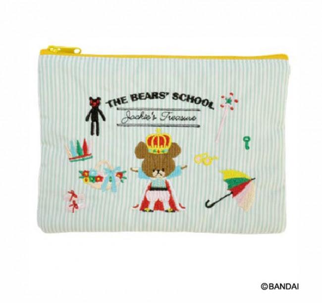 商品名:刺繍ポーチ(大) 価 格:1,800円(税別) サイズ:W180×H130mm