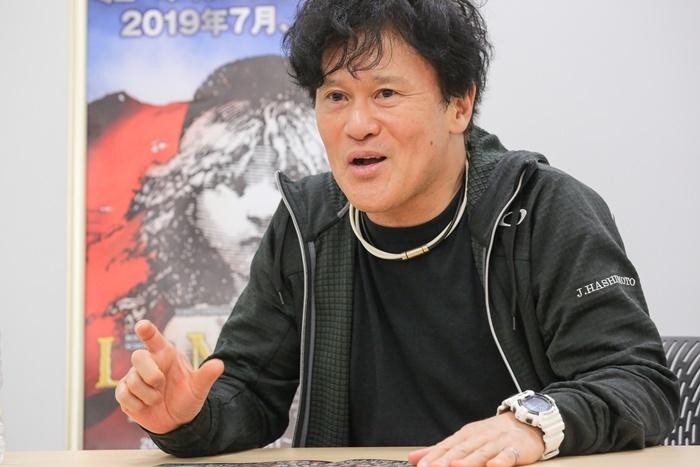 橋本じゅん 撮影=田浦ボン