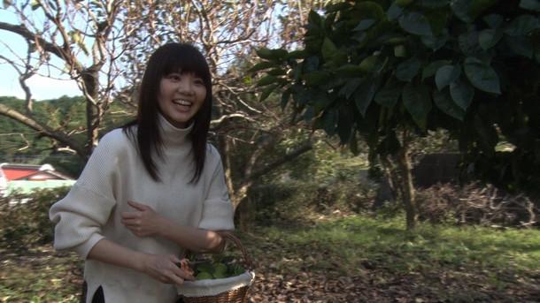 NHK BSプレミアム「いきものがかり吉岡聖恵 ポートレイト」のワンシーン。(写真提供:NHK)