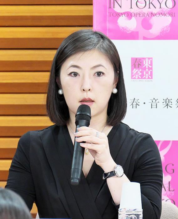 芦田尚子(東京・春・音楽祭実行委員会 事務局長) (c) Naoko Nagasawa