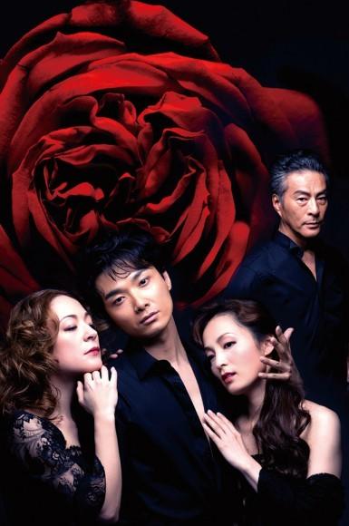 左より:シルビア・グラブ/井上芳雄/和音美桜/福井貴一 撮影:熊谷仁男