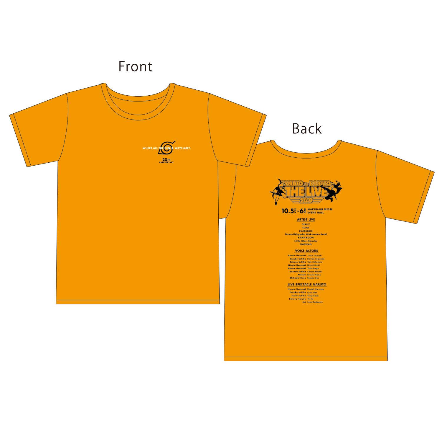 Tシャツ_オレンジ