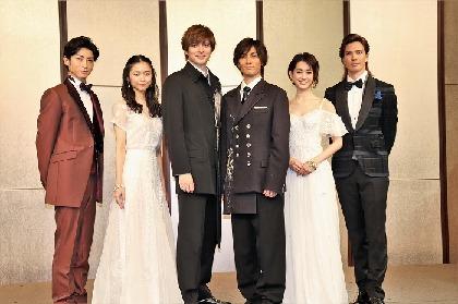 ミュージカル『ファントム』製作発表会見 城田優、主演と演出の二刀流に「楽しみでしかない」