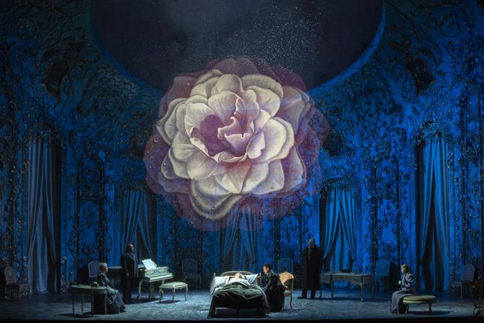 《椿姫》 (c)Marty Sohl/Metropolitan Opera