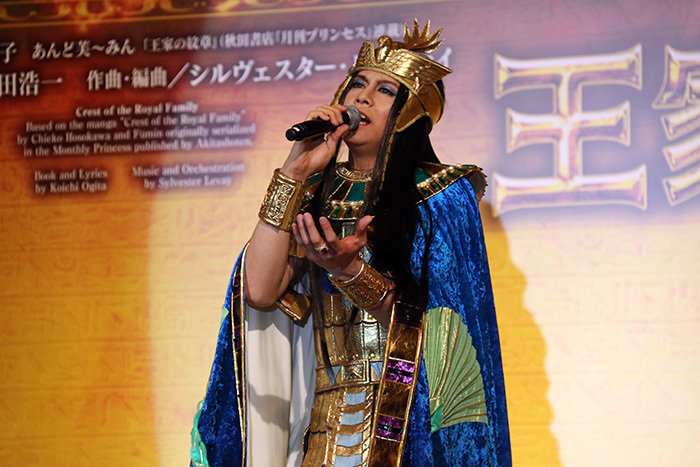 本番の熱唱が今から楽しみ! 浦井健治 ミュージカル「王家の紋章」