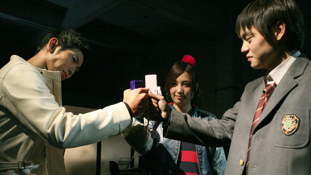 『ケータイ捜査官7』より (C)WiZ・Production I.G・バディ携帯プロジェクト