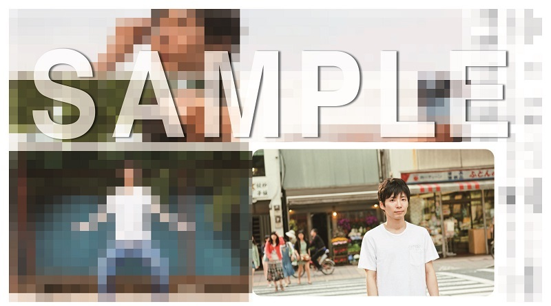 星野 源『Music Video Tour 2010-2017』店舗別オリジナル特典画像(モザイク付き)