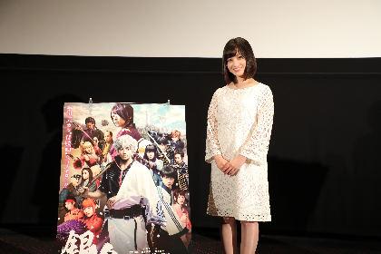 実写映画『銀魂』 橋本環奈が熊本を訪問「この復旧は本当に皆さんの努力の賜物」