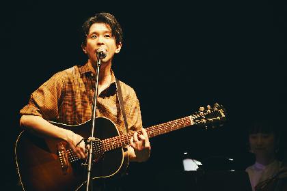 Keishi Tanaka 自在なフォーメーションから奏でる音と歌で魅了したビルボード公演